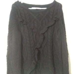 Lauren Conrad Ruffled sweater